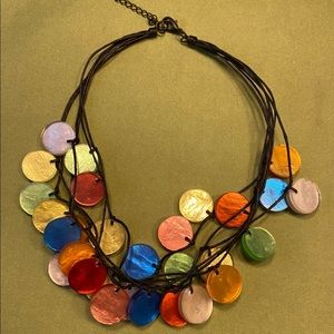Jewelry - Corded 6 strand necklace